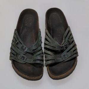 Birkenstock Green Sandals Size 40